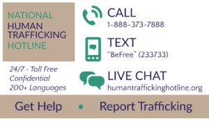 National Human Trafficking Hotline