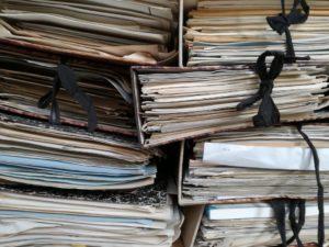 Folders full of paper