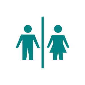 Icon of male and female figures